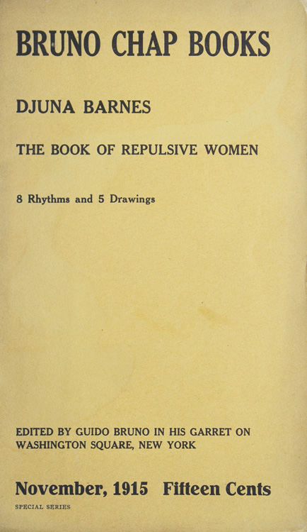 Djuna Barnes - The Book of Repulsive Women