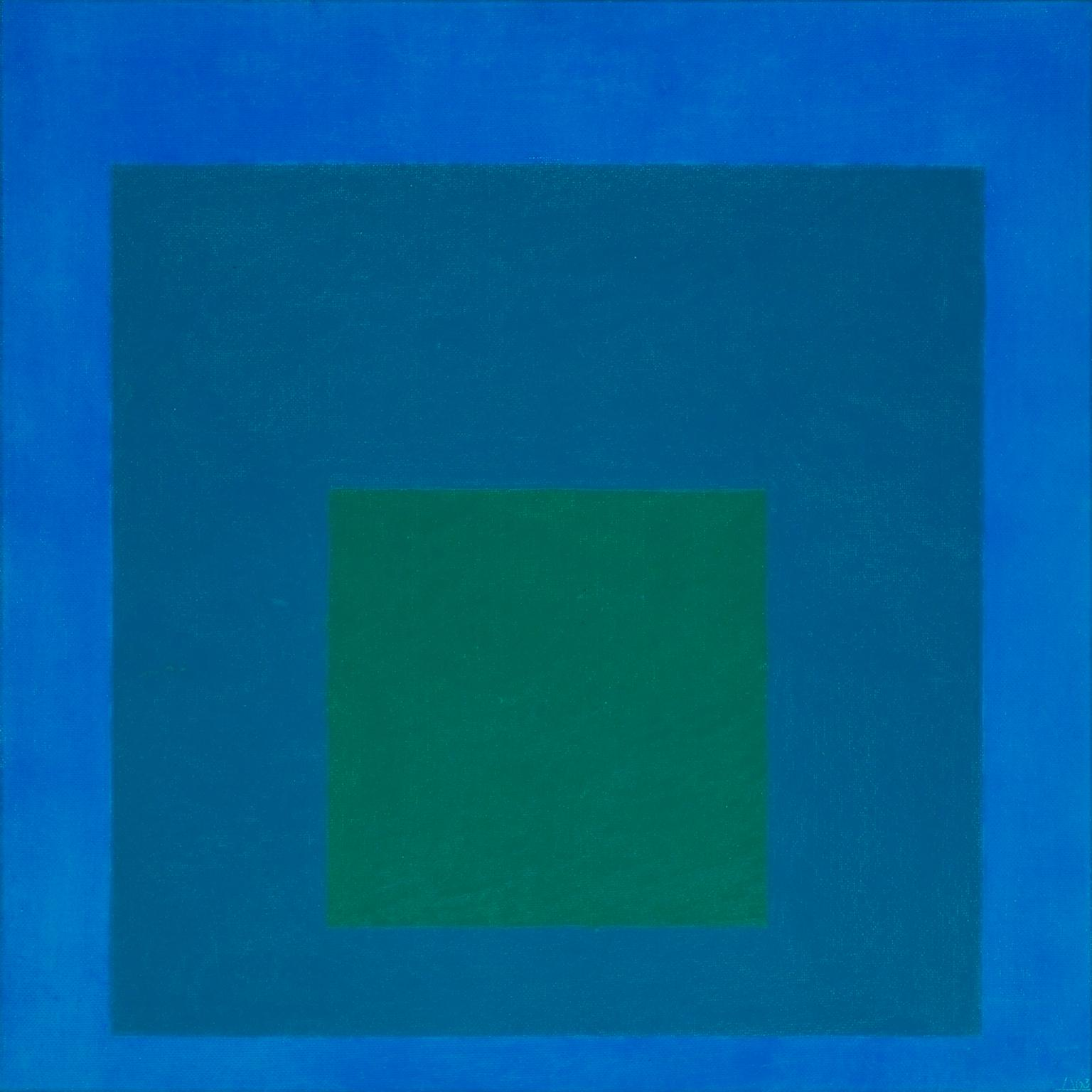 Josef Albers - Study for Homage to the Square Beaming