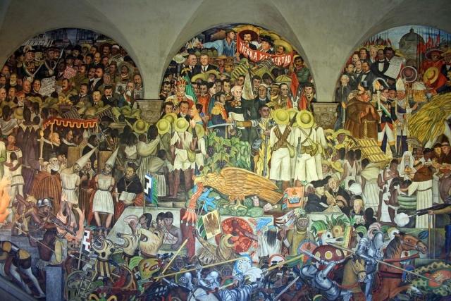 Diego Rivera - The History of Mexico