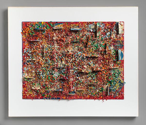 Howardena Pindell - Untitled 87b
