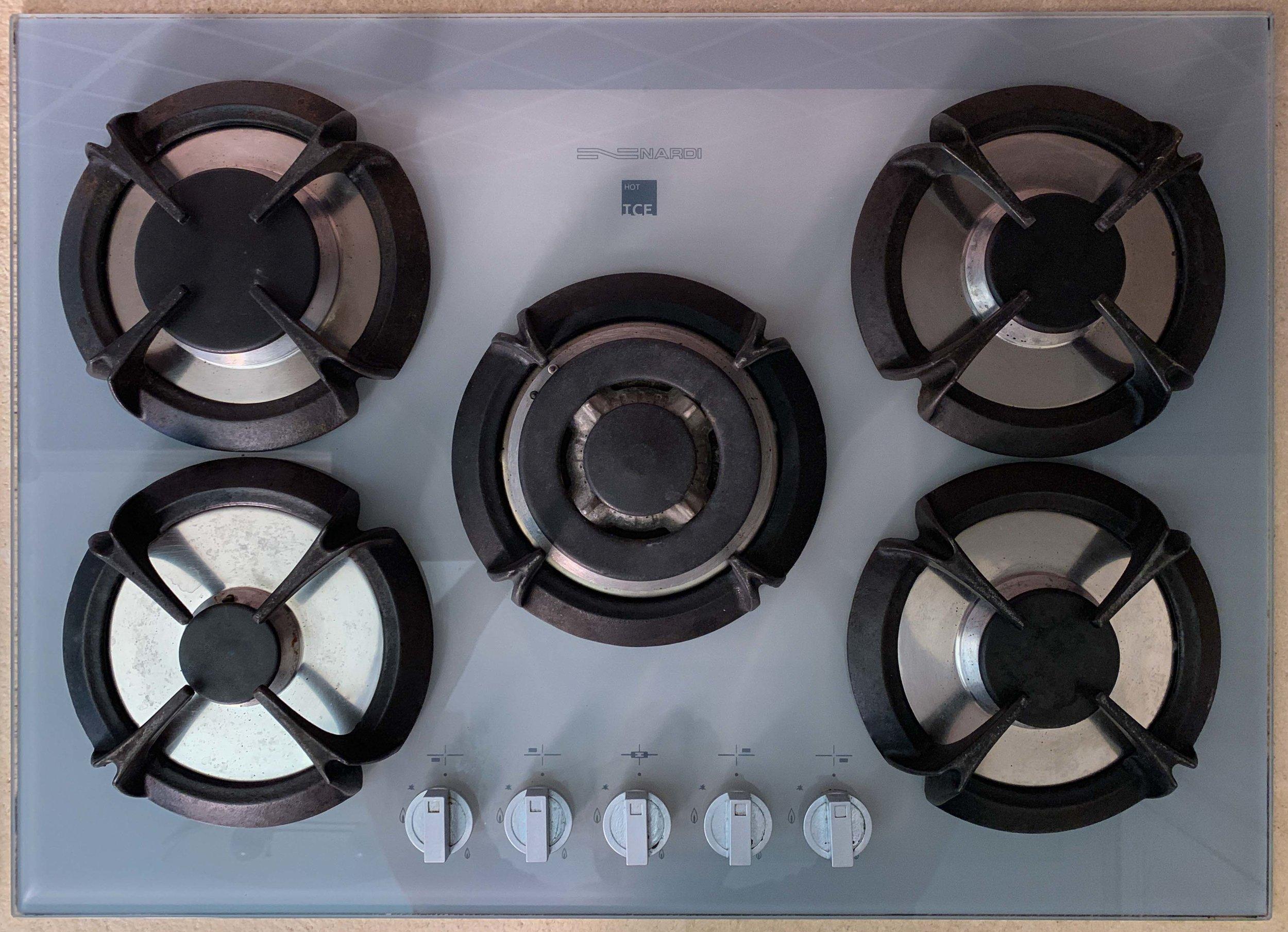 Stone gas stove