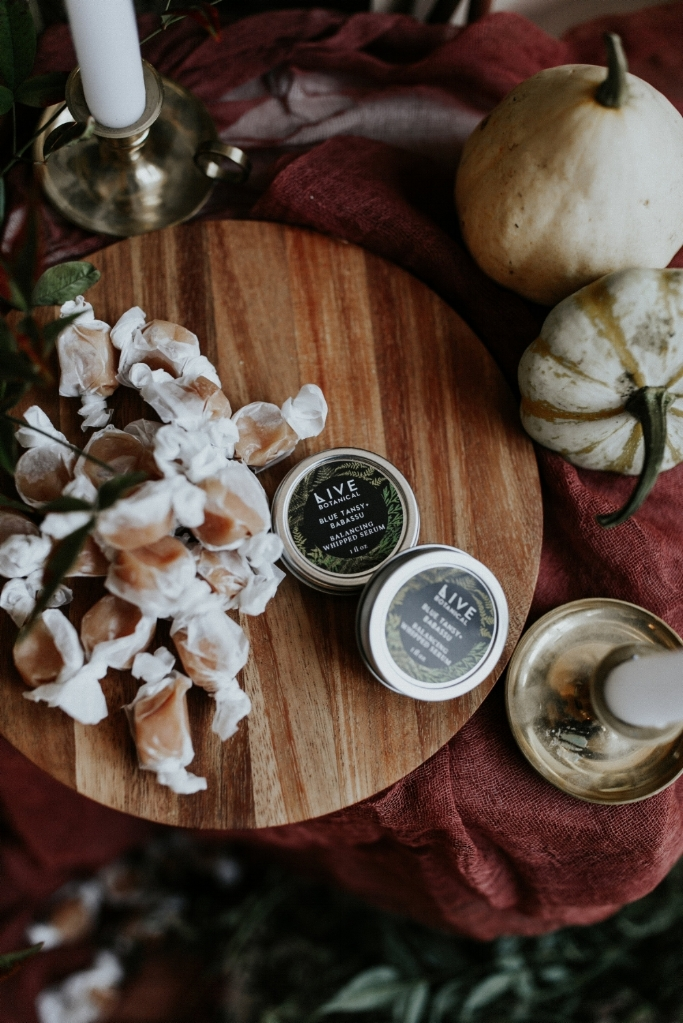 Live Botanical Fall Tablescape Content Creation 01