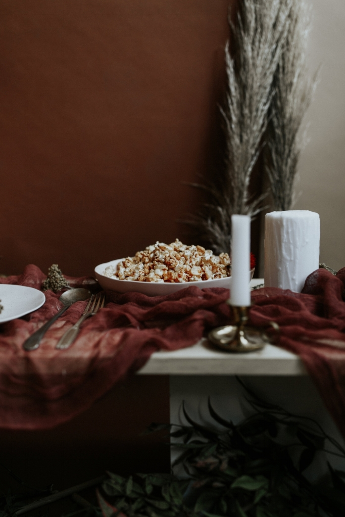 Live Botanical Fall Tablescape Content Creation 04