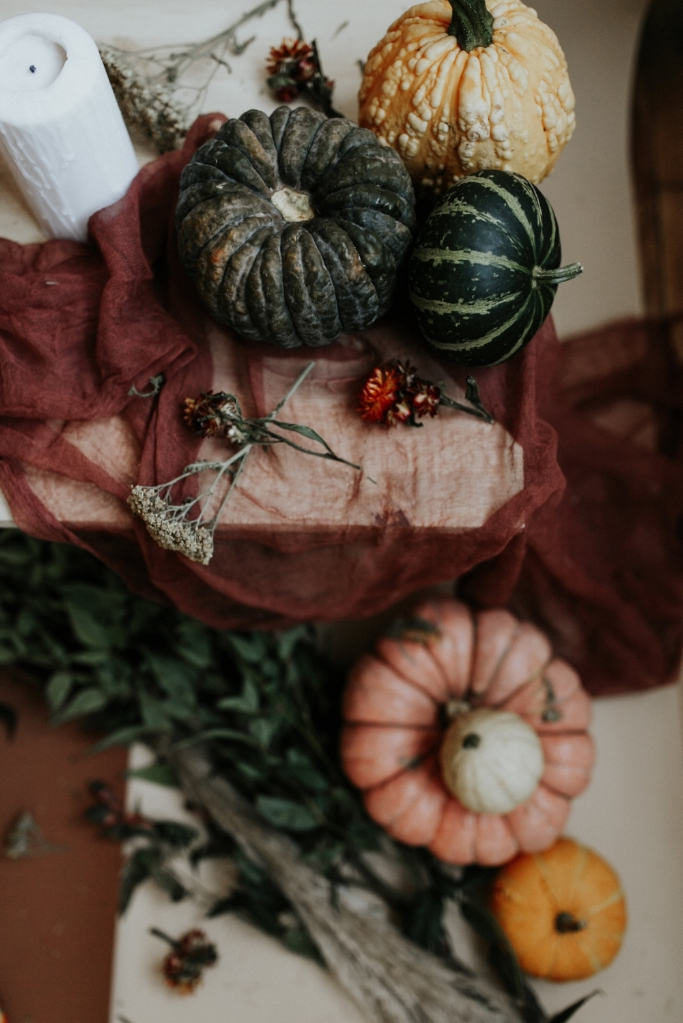 Live Botanical Fall Tablescape Content Creation 06