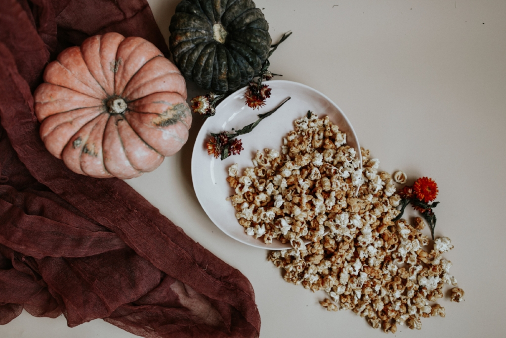 Live Botanical Fall Tablescape Content Creation 02