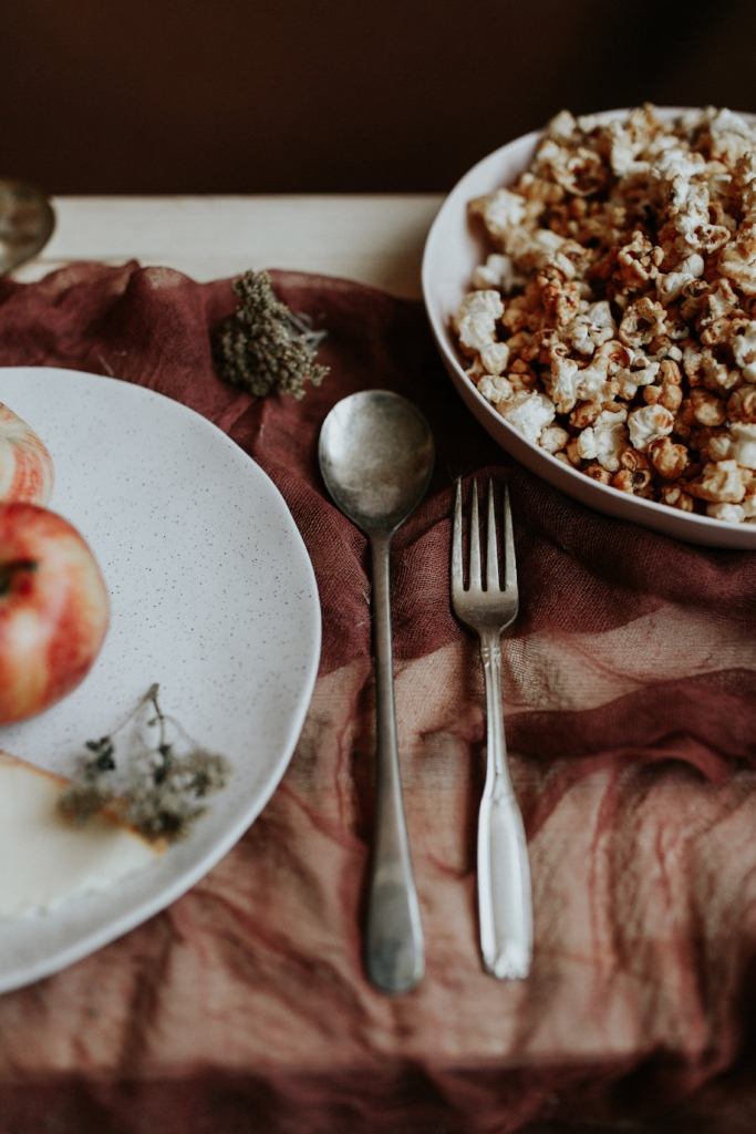 Live Botanical Fall Tablescape Content Creation 13