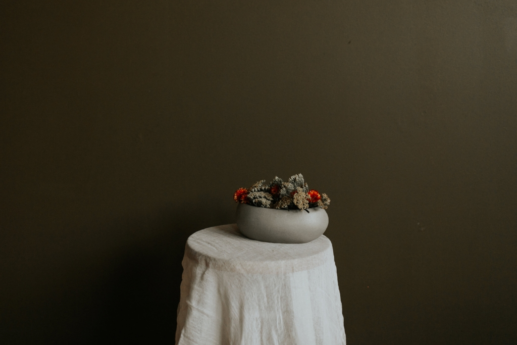 Live Botanical Fall Tablescape Content Creation 17