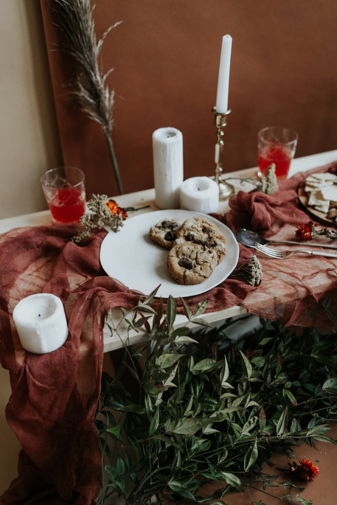 Live Botanical Fall Tablescape Content Creation 24