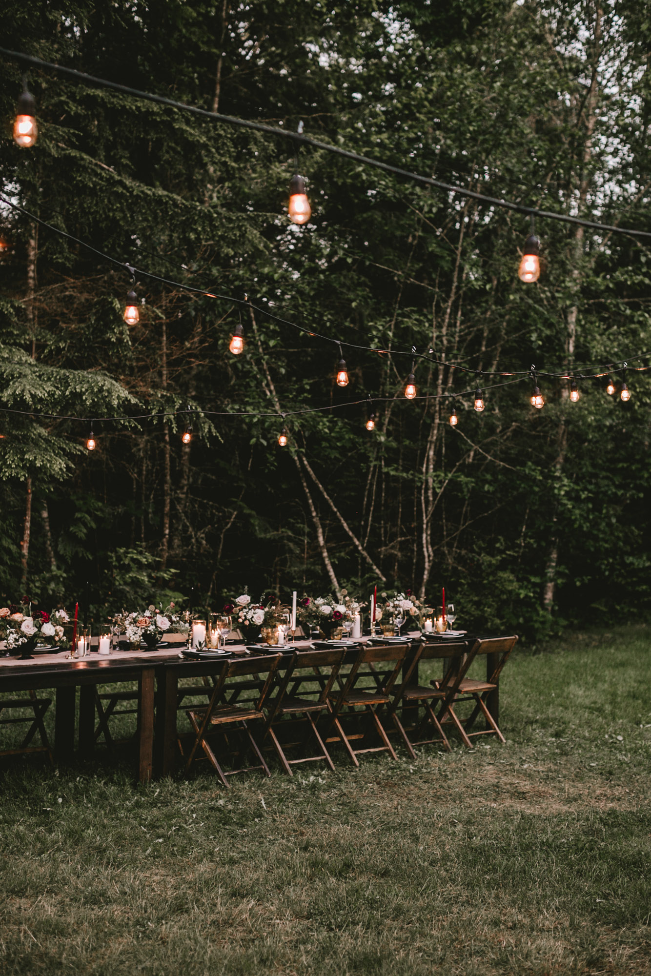 Intimate Elopement Tablescapes | Hurricane Ridge