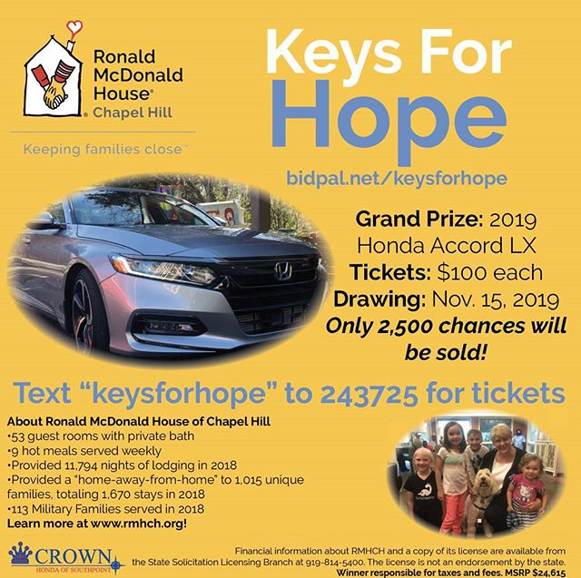 Our Kids Need Your Help Donate for a Grand Opportunity to Win Big Twice! #ChapelHill #Kids #Raffle #Helpingothers #Raleigh #Moms #Apex #CAryNC #Autoraffle #GetYourTickets #Donation #Raleighlocal #Awesome #Makingadifference #Community #wakeforestnc  #Rolesville #Garner #Clayton #Morrisville #NC