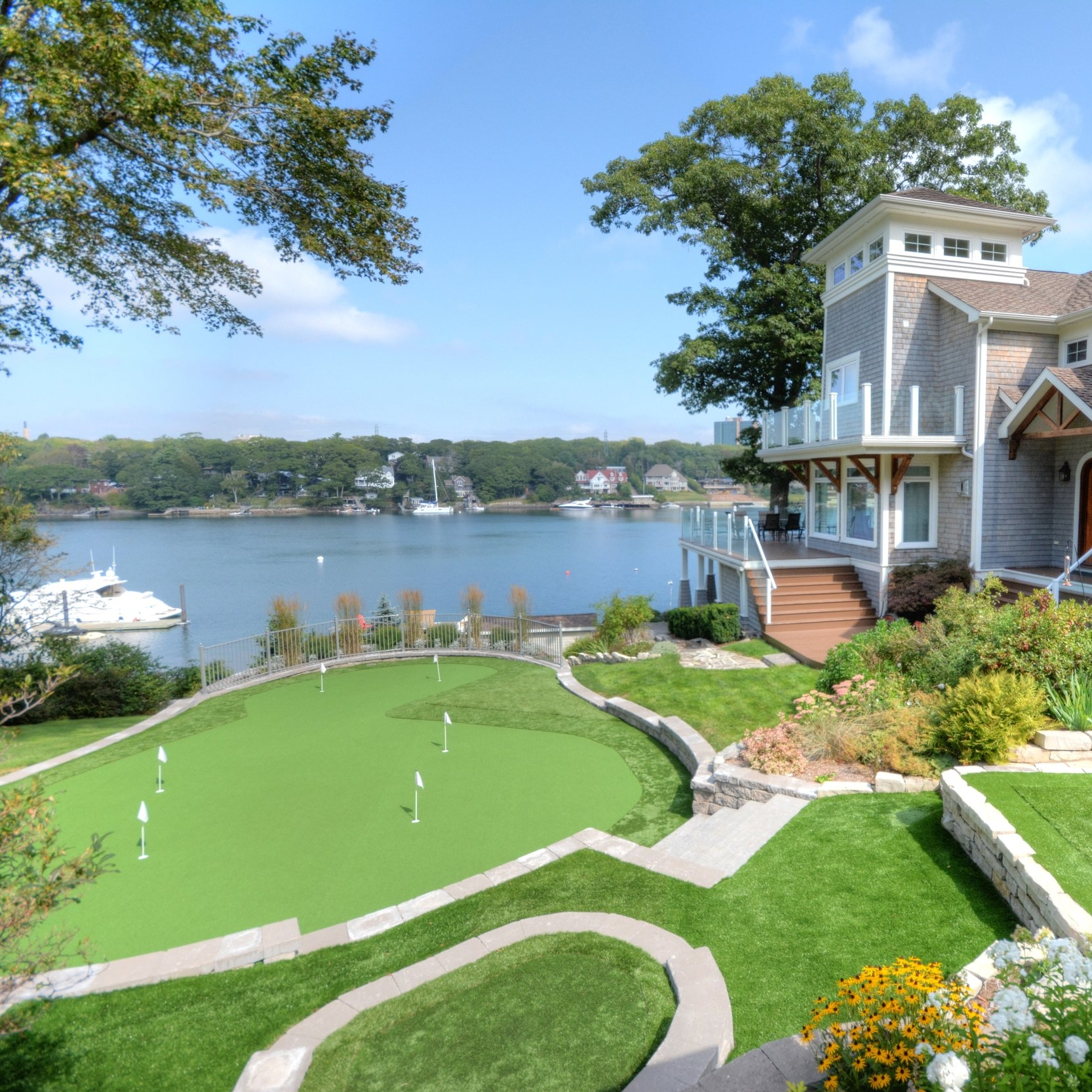 NW Arm Golfers Landscape