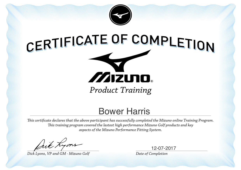 Mizuno Certification.jpg