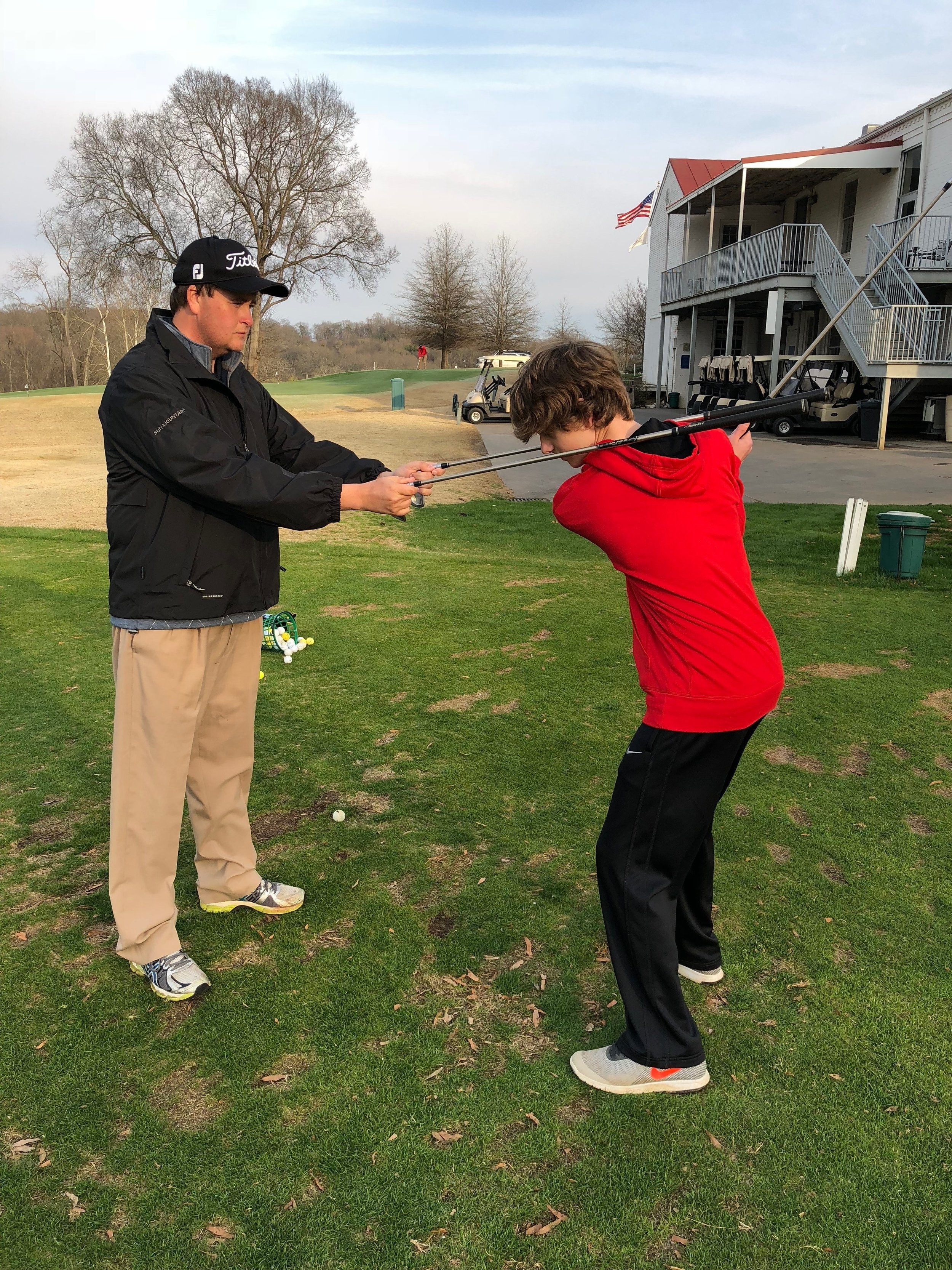 Private Instruction - While taking a lesson with me, you will be treated to a private atmosphere where we will fix your problems together! whether it's slicing, hooking or contact, I have the solution! Lessons are filling up fast so sign up now!