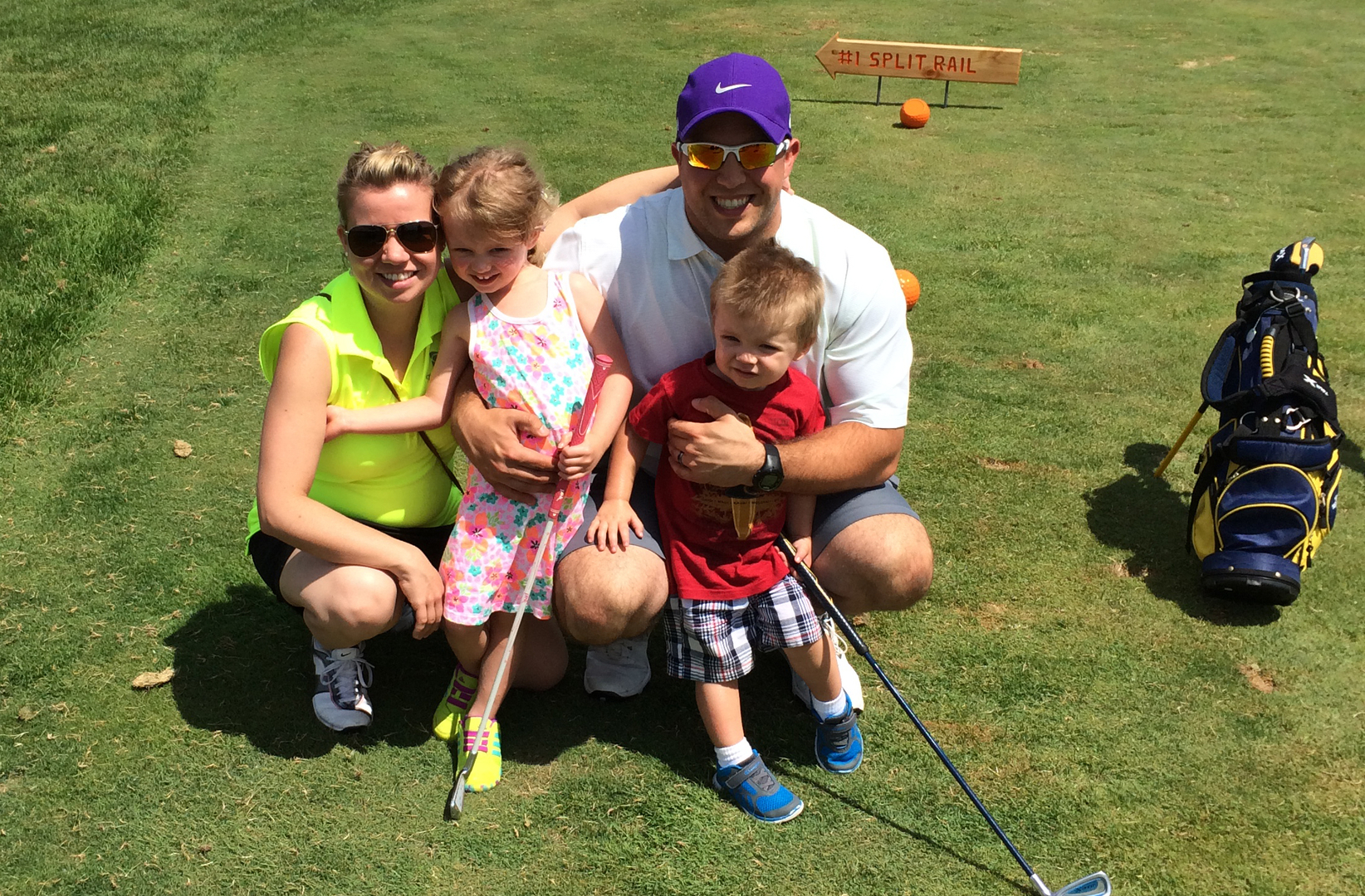 Family Golf - If you are in a family where your kids play golf, and maybe you would like to learn? Sign up for my family golf clinic and enjoy quality family time while having the time of your life learning the game of golf! *Equipment provided if needed*