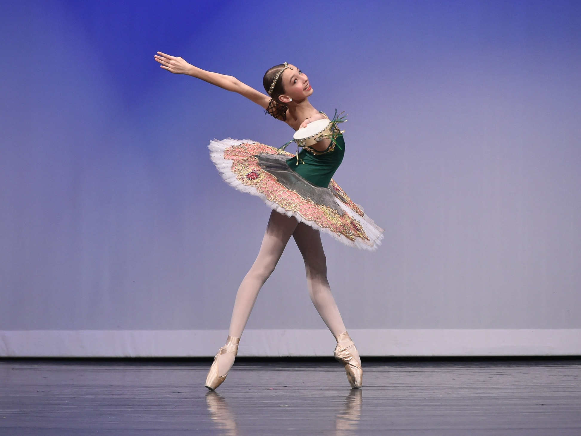 Kate Thomas has been recognized numerous times at YAGP with 1st, 2nd and 3rd places in the classical and contemporary categories. Kate is also the first dancer from San Antonio to pass to the final rounds of the New York YAGP Finals held at the Lincoln Center in New York City.