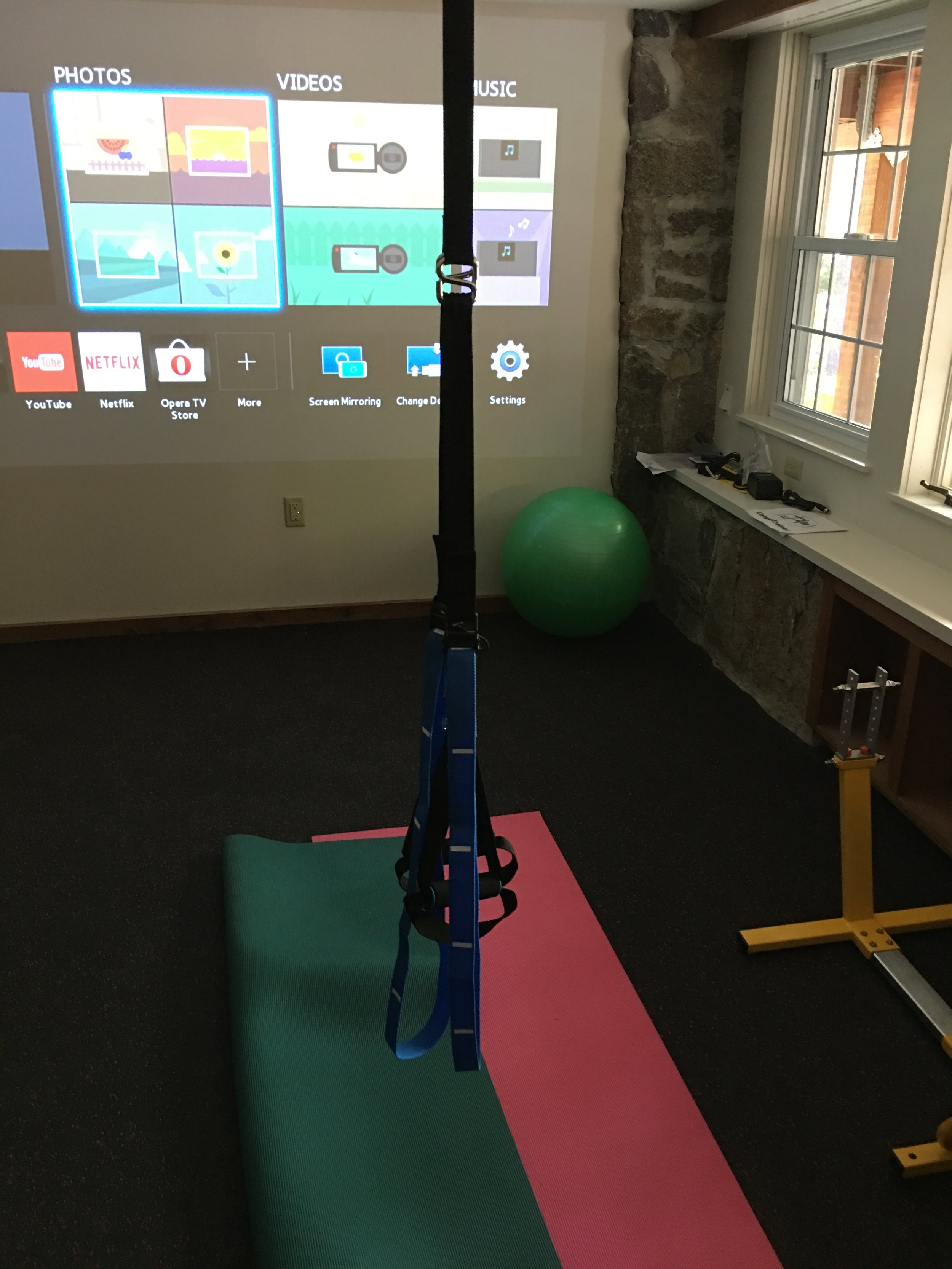 Gym Theater  Projector Projector Screen