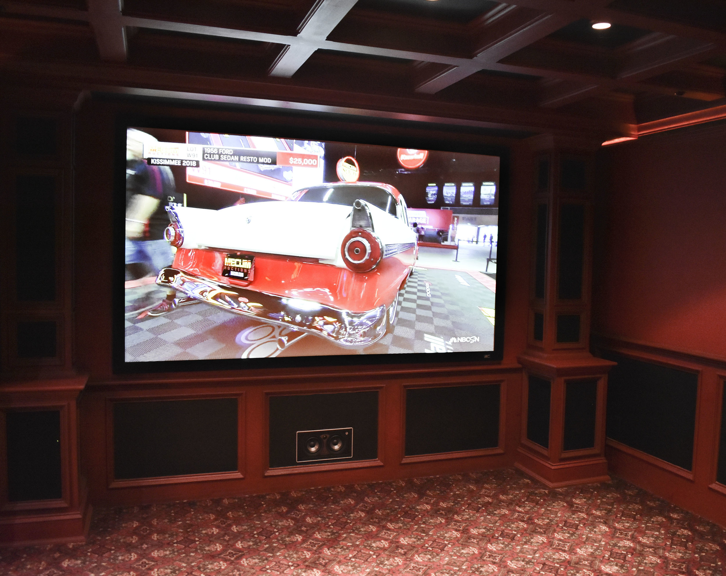 Home Theater - Full home theater experience and wireless surround sound are just a couple of options we offer. The Sound Resort can make any room in your home a media room.