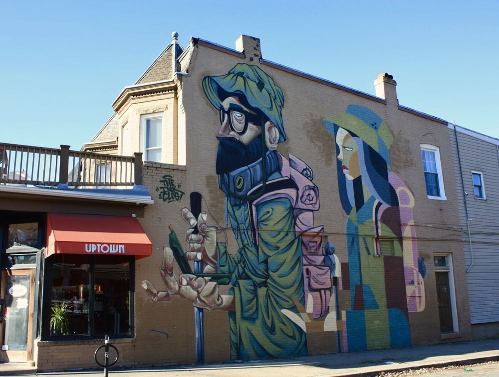 RICHMOND MURAL PROJECT : THE MIGRATION - INKTEN + CLOGTWO©