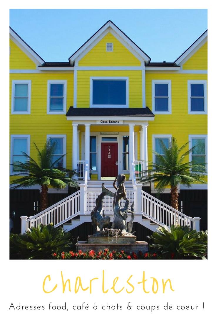 Gros coup de coeur pour #Charleston, ses couleurs, ses cafés et sa nature !