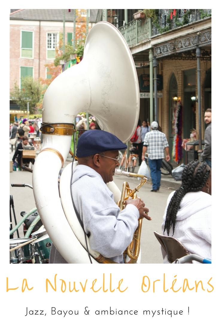 Au programme de la Nouvelle Orléans :jazz, spécialités culinaires, bars et quartier français !