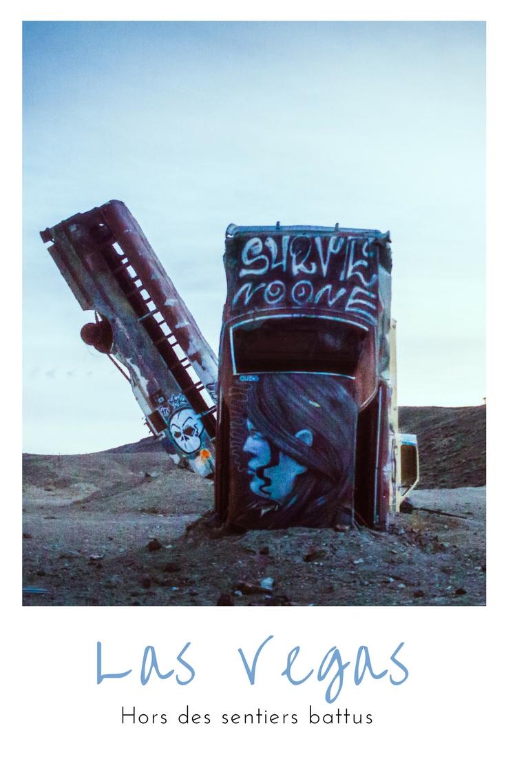 Quitter le bling bling de Vegas un instant et se perdre au milieu d'un cimetière de voitures, chiche ?