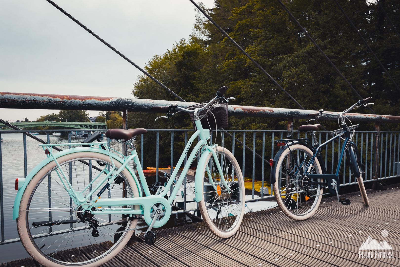 Sont pas beaux nos vélos de bobos ?
