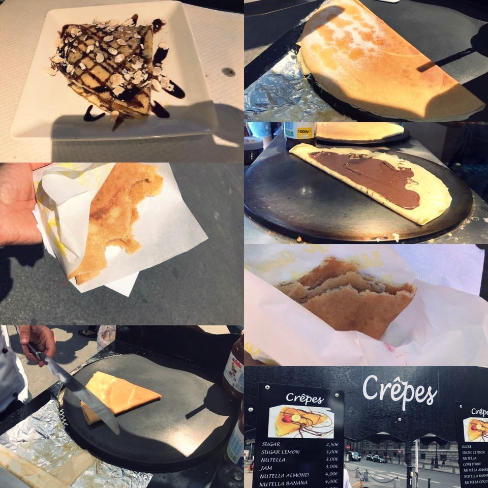 These are the very crepe's Monika tells us about in her interview. You know, the ones that were mind blowing?