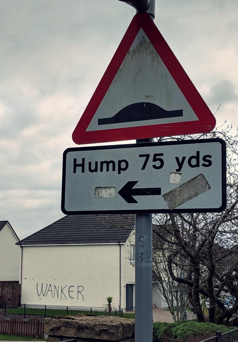 Like I said, low road. HA!