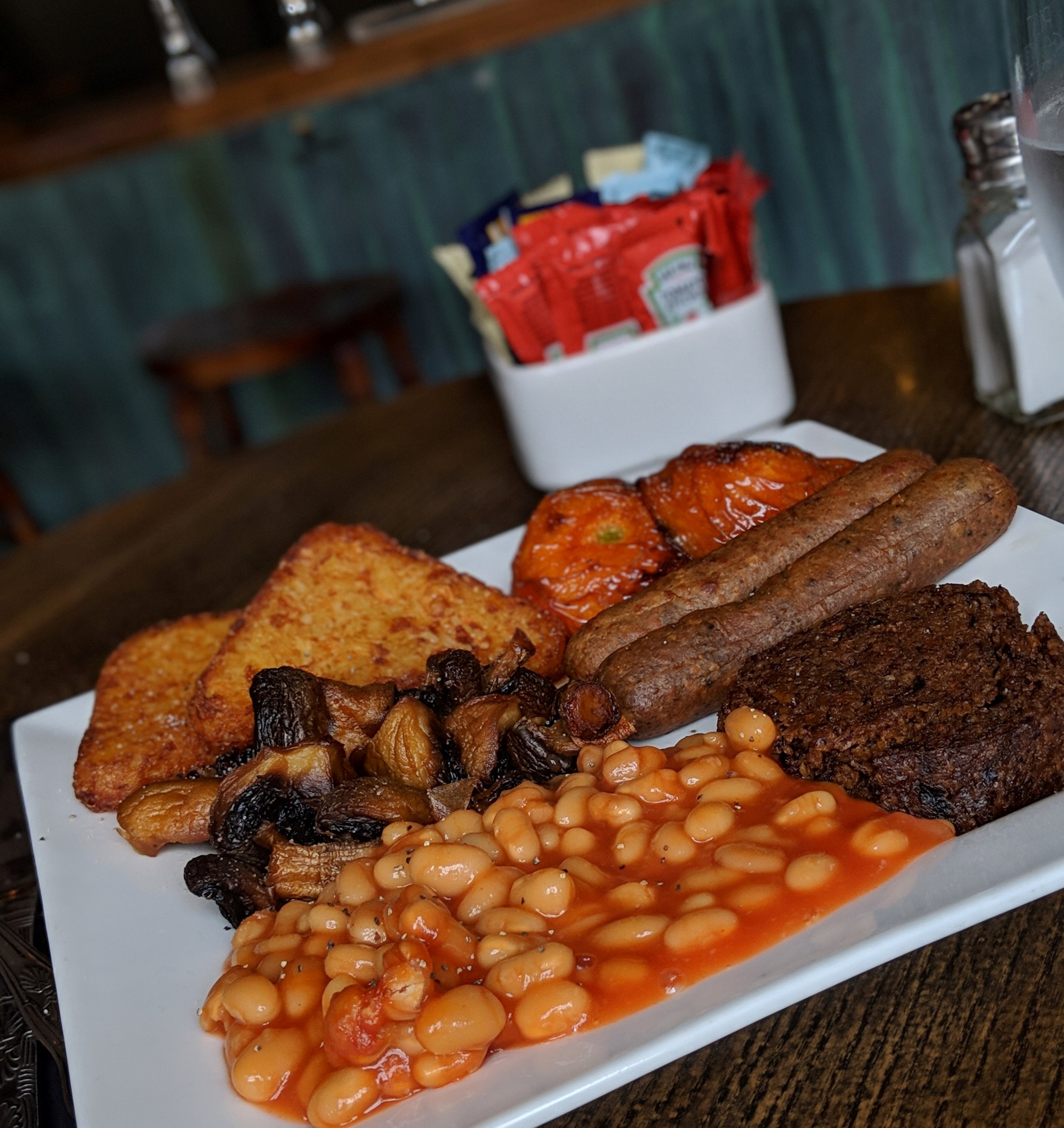 Now that is what I call The Full English!