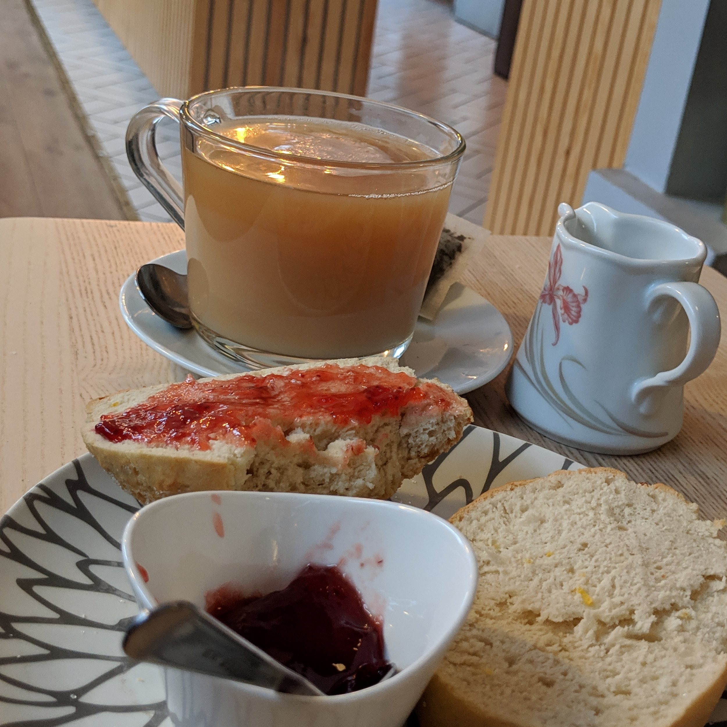 So there I was in Reykjavik eating a vegan scone….you know…as one does…