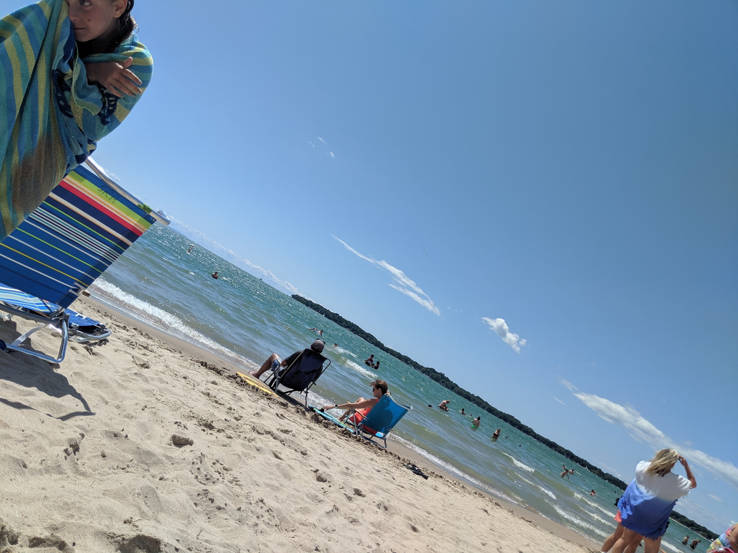 Don't forget to bring your passport and sunblock when you head to Crystal Beach in Canada!