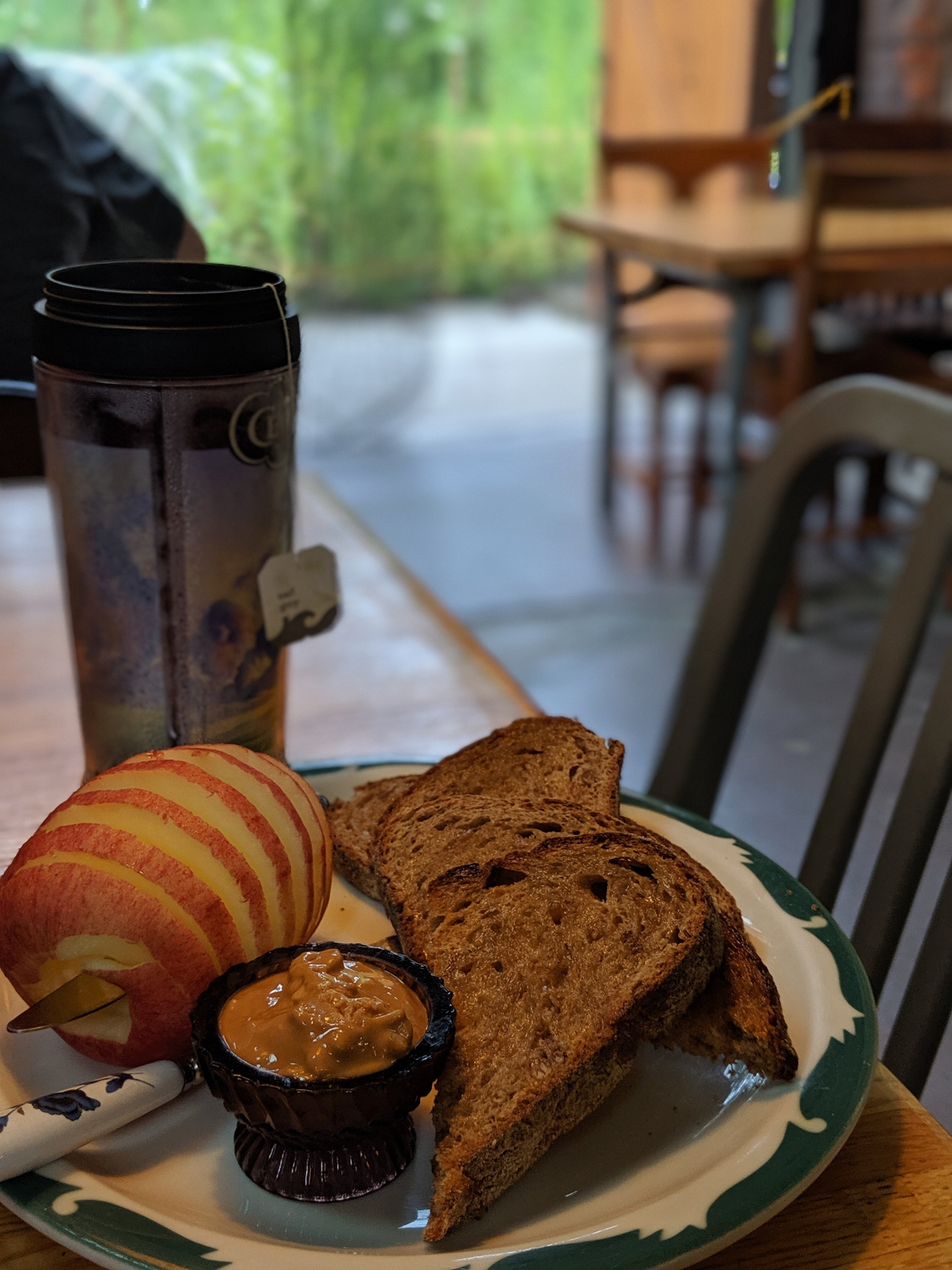 The Build-Your-Own Toast at  Five Point's Bakery  means you get their bread topped your way.