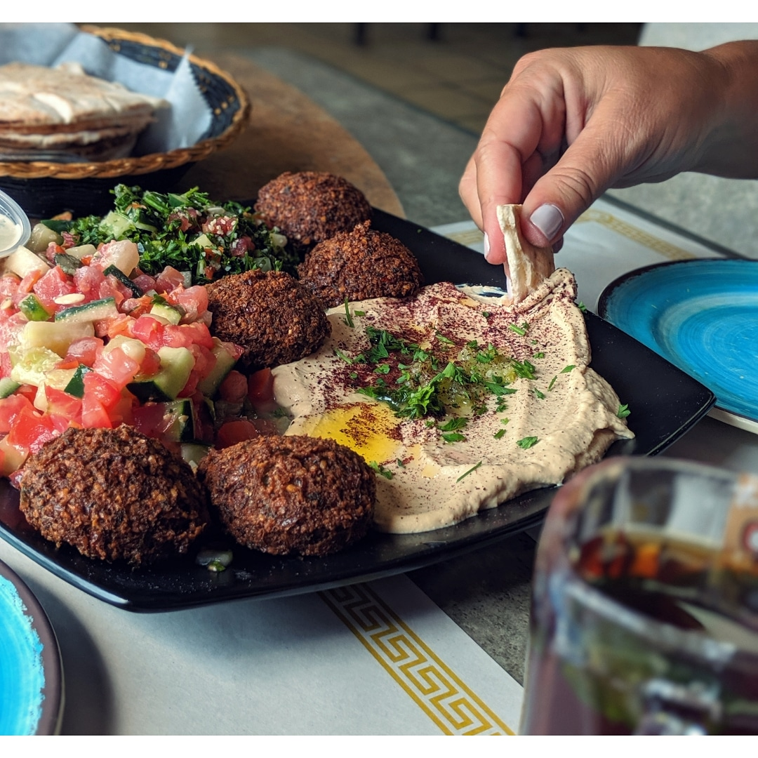The hummus was lovely, and those falafel? Well they don't brag about them being the fluffiest in Western NY for nothing at  House of Hummus , where you can find many Palestinian specialties.