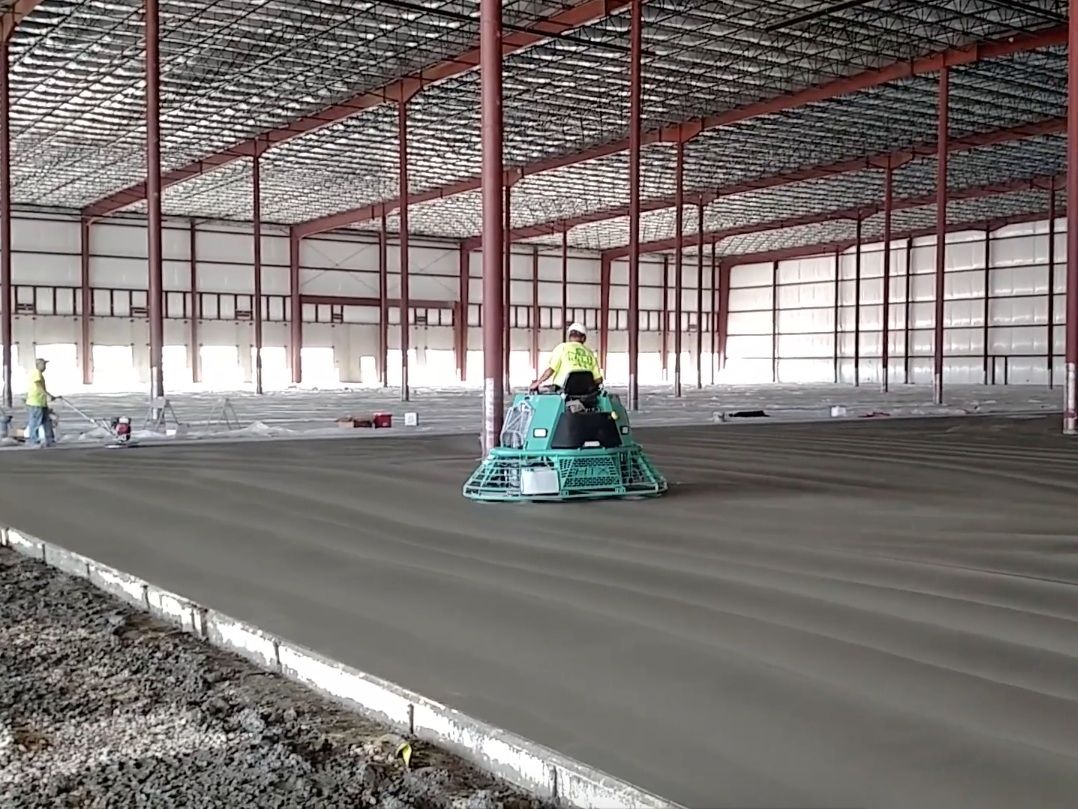 Flat Work - Floors & Slabs for Commercial, Industrial & Agricultural Markets