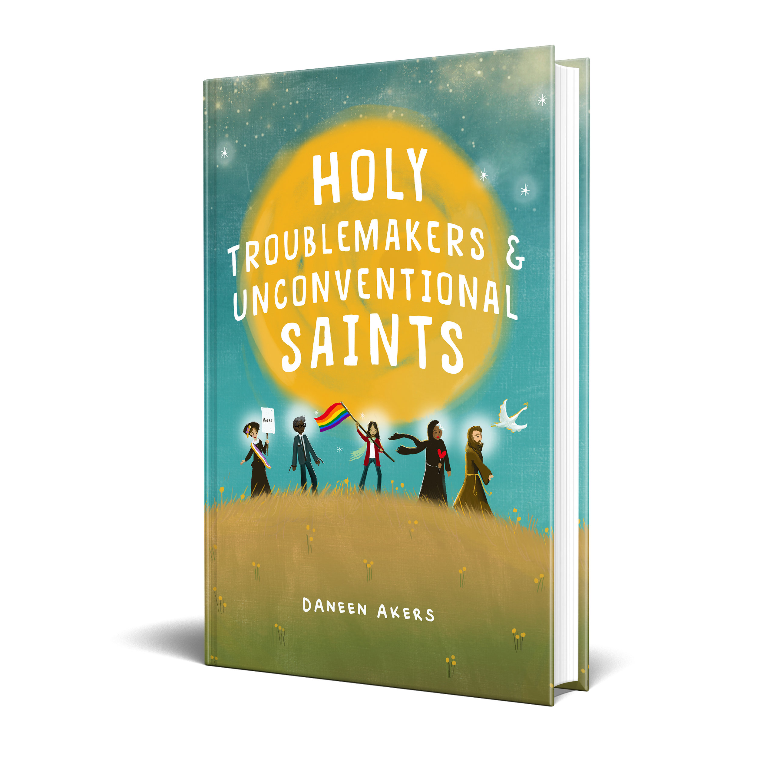 Holy Troublemakers & Unconventional Saints - Cover Mockup 1