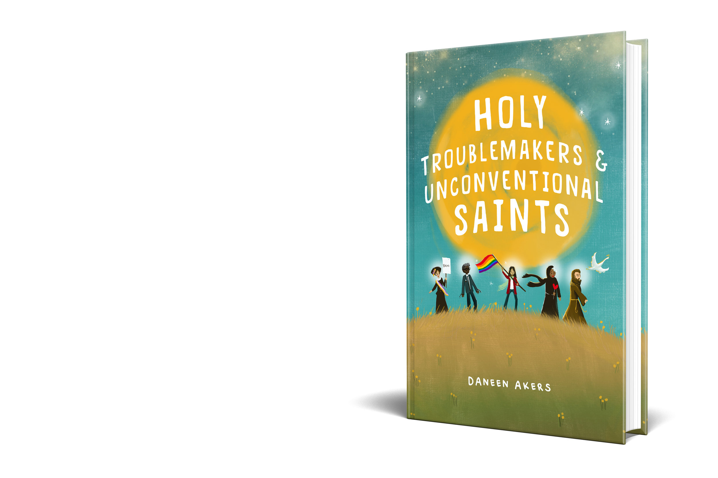 Holy Troublemakers & Unconventional Saints - Cover Mockup 3