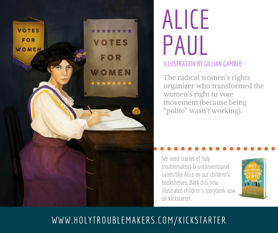 Alice Paul - Facebook