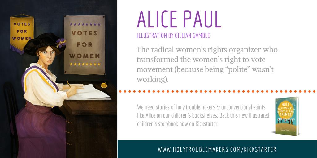Alice Paul - Twitter