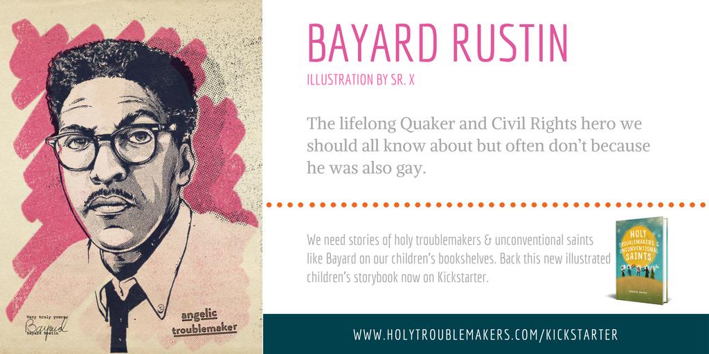 Bayard Rustin - Twitter