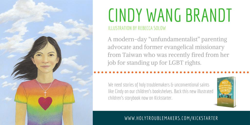 Cindy Wang Brandt - Twitter