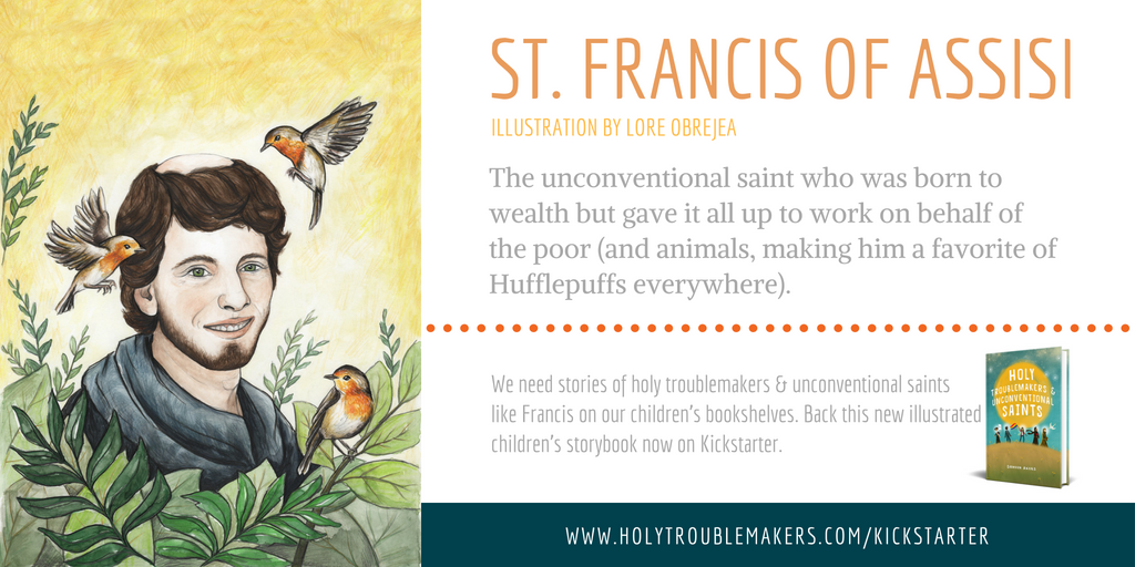 St. Francis of Assisi - Twitter