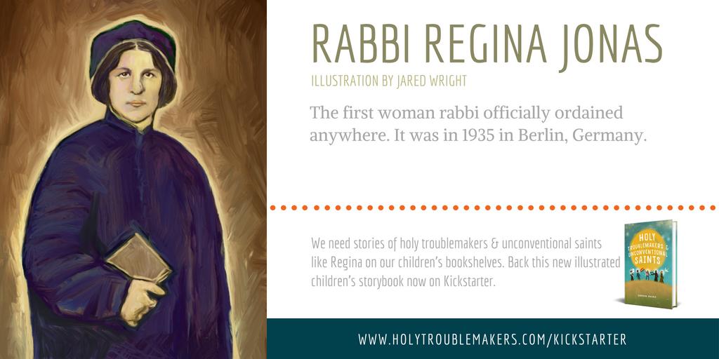Rabbi Regina Jonas - Twitter