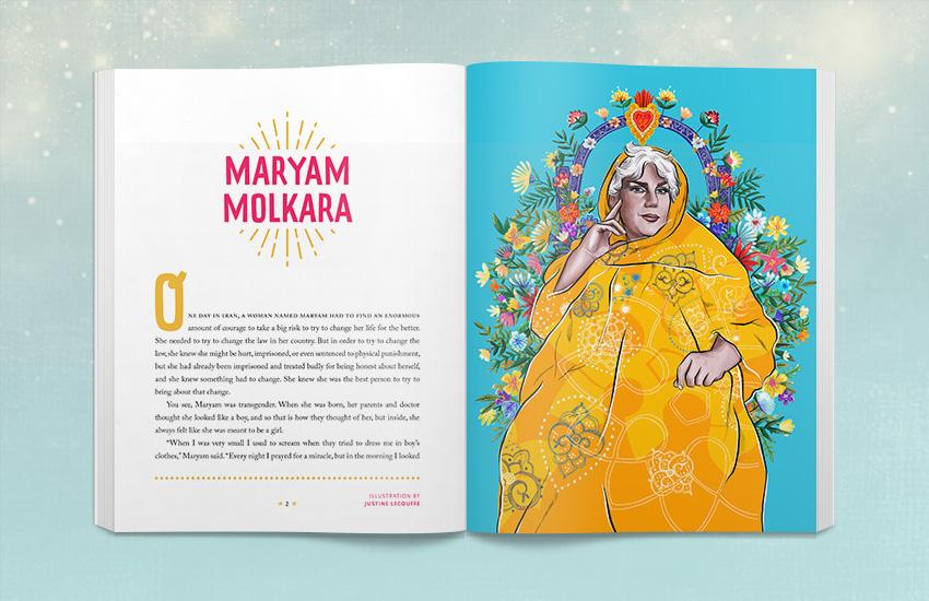 Book Spread - Maryam Molkara