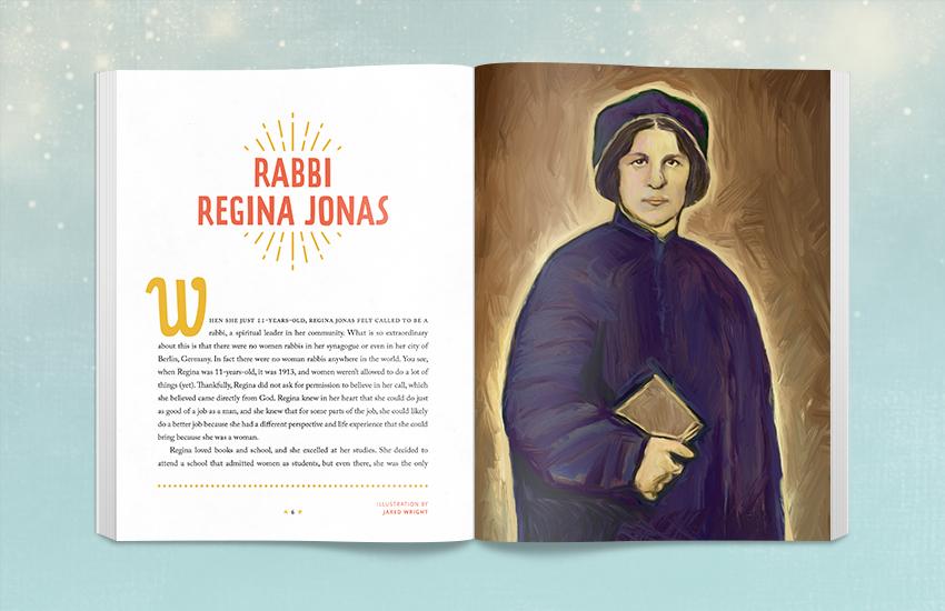 Book Spread - Rabbi Regina Jonas
