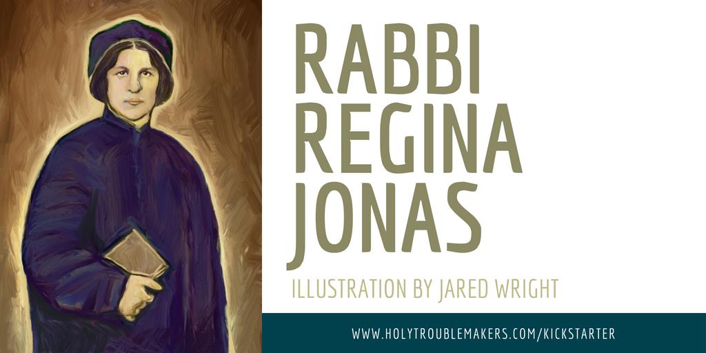 Rabbi Regina Jonas - Twitter v2
