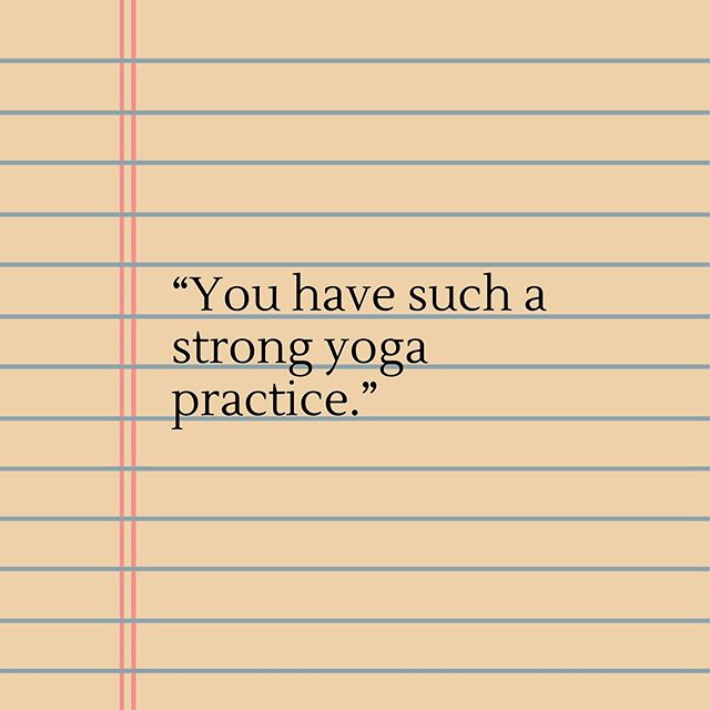 "I've heard these words said many times within the yoga community. More often than not people use this in reference to asana (the yoga shapes/positions). Over the past week I've been dissecting this in my own practice. 🧘🏻‍♂️🧘🏽‍♀️ What makes a yoga practice strong to you? Is it that you practice every day? Is it that you use the lessons of yoga (i.e. sitting in your discomfort) as a metaphor for how to deal with life off the mat? What makes you feel connected to your strength within yoga? 🧘🏽‍♀️🧘🏼‍♀️ I feel my practice is the strongest when I'm able to find my way to my mat in times of struggle. I know I am a strong Yogi when shit hits the fan and I allow myself to sit in it and not run. I felt really strong in my practice last week when I realized the yoga class I was taking at @jivamuktiberlin was in German (I don't yet speak German). Rather than say ""I won't be able to do this"" I stayed and gave it a shot. That made me feel quite strong. 🧘🏻‍♂️🧘🏽‍♂️ When have you felt the strongest in your yoga practice & what made you feel that way? I ask this seeking of inspiration for myself and for others. The teacher within me recognizes and honors the teacher within you. (Namaste.) 🙏🏾 #demystifyingyoga #strength #yoga #namaste #asana #discomfort #jivamukti #jivamuktiberlin #germany #berlin #berlinyoga #meditation #mindfulness #howtomeditate #breath #mantra #iam #happy #well #safe #loved #yogatips #meditationtips #yogawithpreston #beginneryoga #yogaforbeginners #yogi #yogini #yogisofinstagram #instayoga"