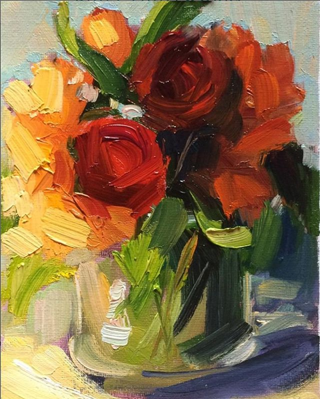 """""""Flowers in vase 2"""" 🏺🌼"""