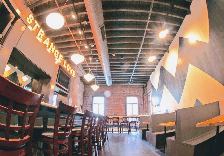 There is work brewing at this craft brew destination! - Open Monday to Friday every week (unless indicated on app).Doors open 11:30 AM (book your table starting 6:00 AM).Exposed brick and industrial finishes near downtown.Private booths for meetings and conference calls.Free coffee all day with amazing lunch on offer.