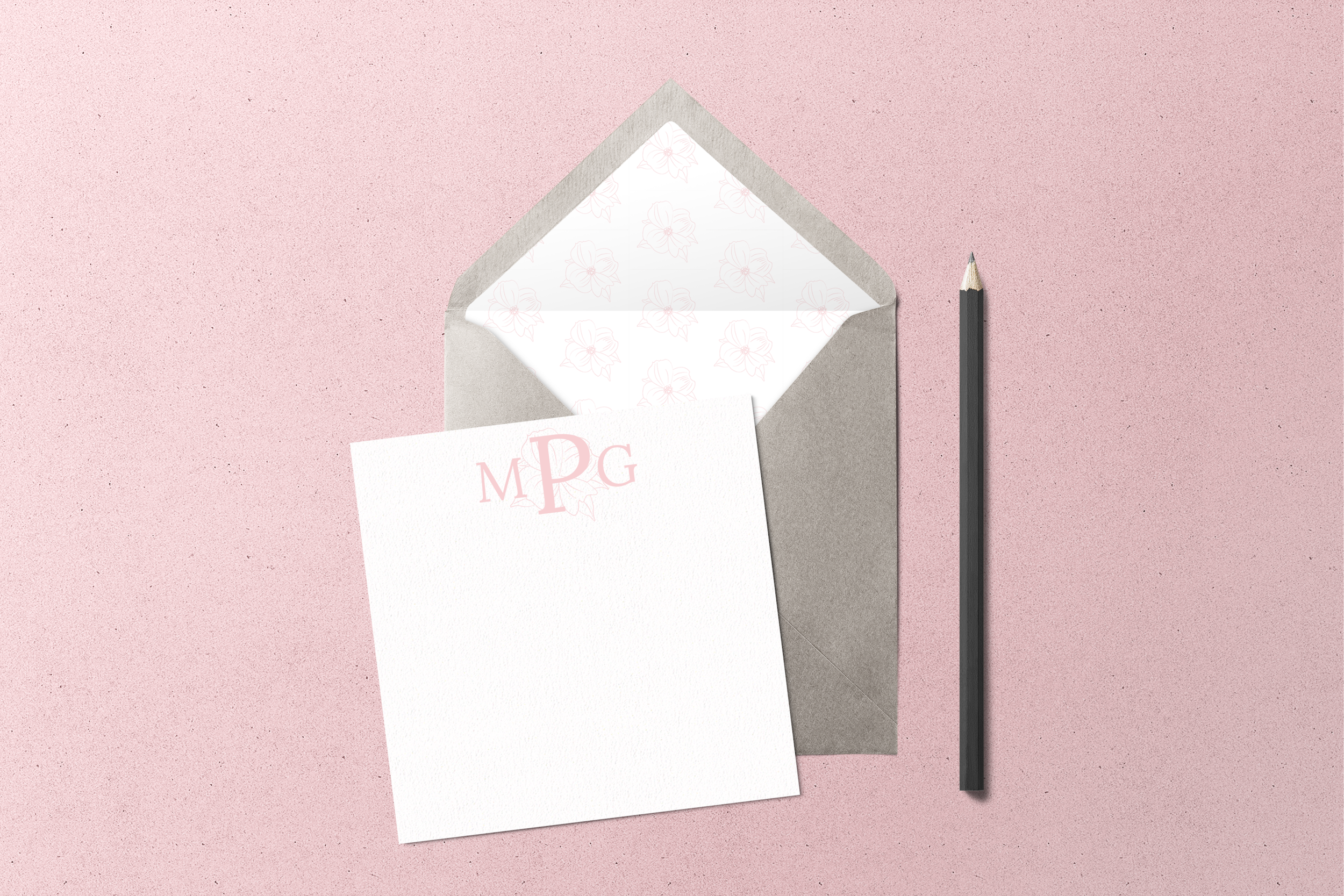 Mallorie Gayle Photography Stationery Mockup