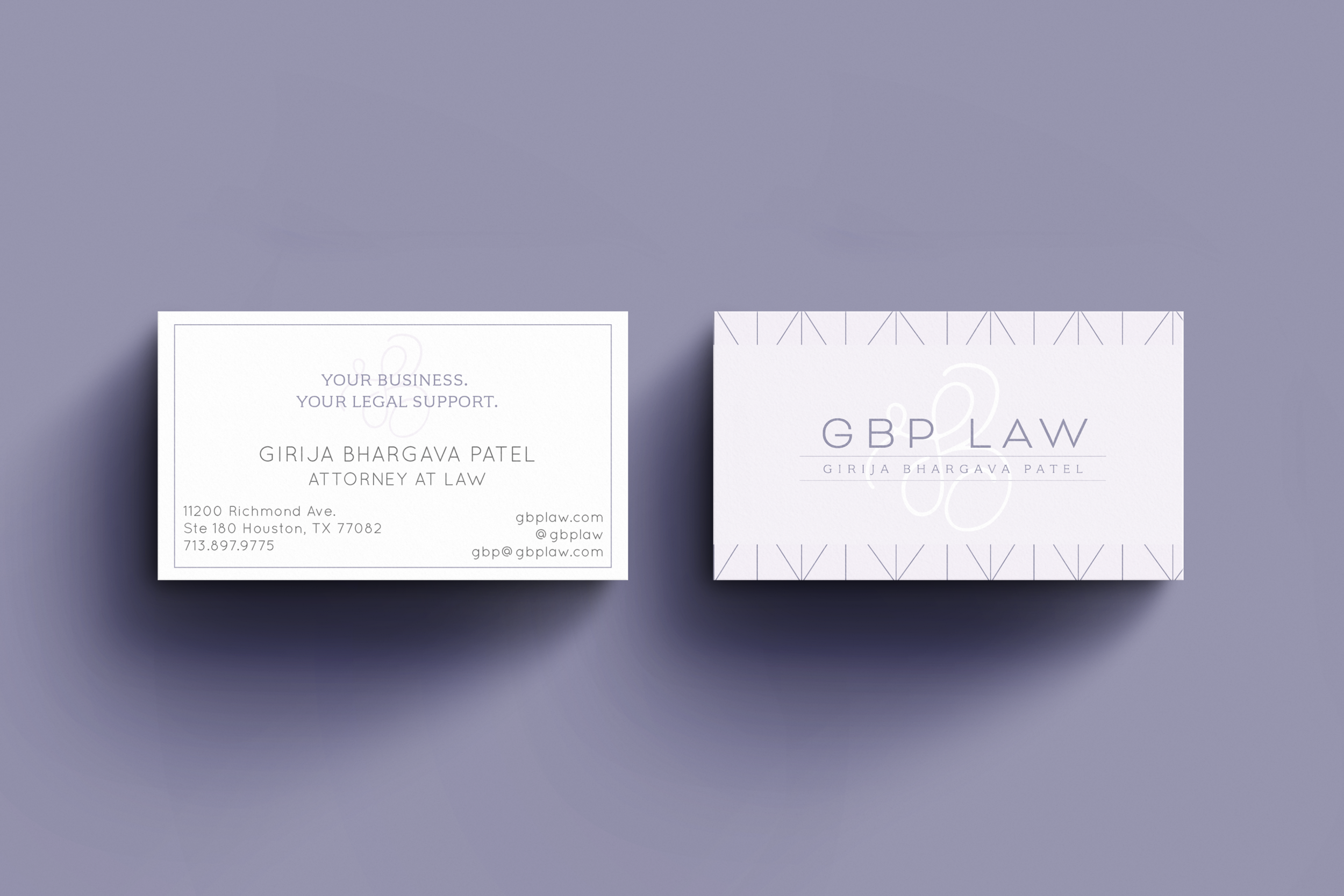 GBP Law Business Cards and Branding by Kindly by Kelsea